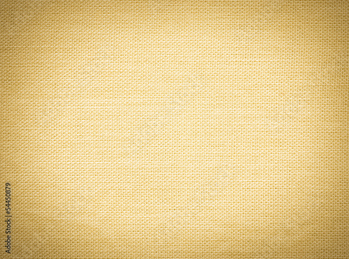 Woven grunge yellow fabric texture