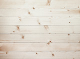 Fototapety light wooden planks texture with branch