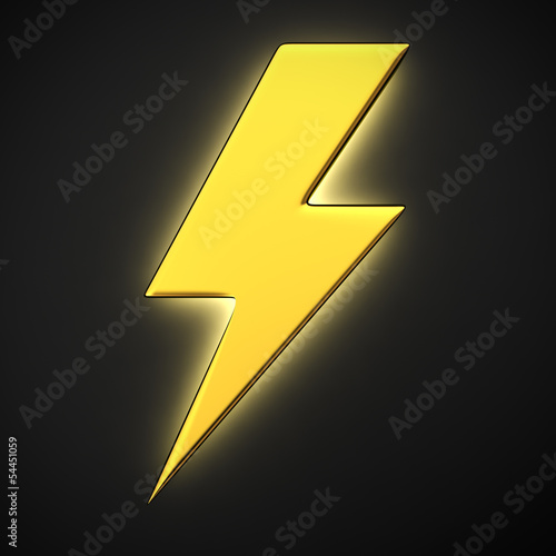 Luminous lightning