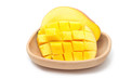 Fresh Mango fruit with slices