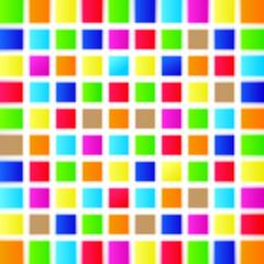 Quadrate Hintergrund Bunt