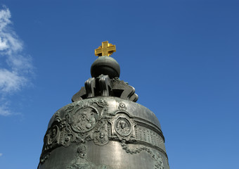 The Tsar Bell, also known as the Tsarsky Kolokol, moscow