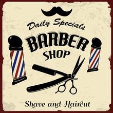 Vintage Styled Barber Shop