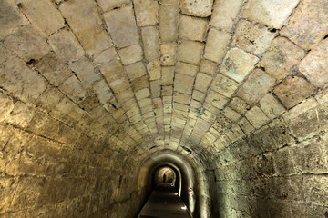 Templar Tunnel in Acco