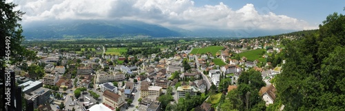 Vaduz - the capital of Liechstein