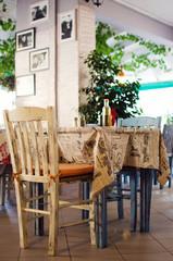 Cute little restaurant in Greece
