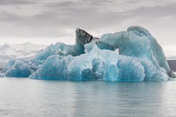 Turned Iceberg, Jökulsárlón, Iceland