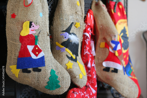 Colorful socks witches epiphany