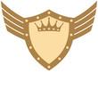 Wings King Shield