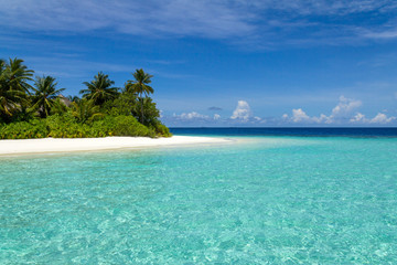 Scenery of the beach