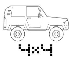 4x4 car