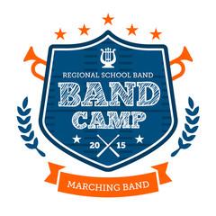 Band camp emblem