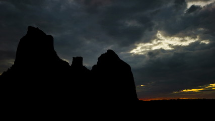 Arizona Boynton Canyon dusk