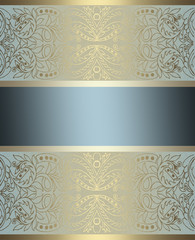 elegant gold and brown background with tape design layout,