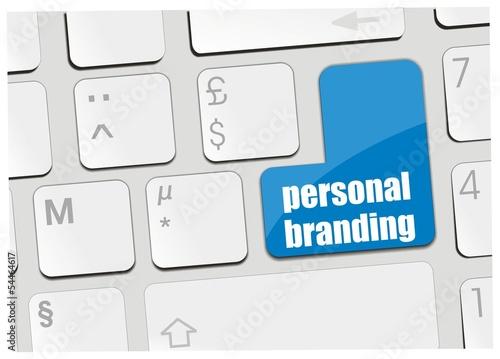 clavier personal branding