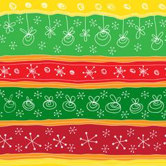 Christmas seamless ornament