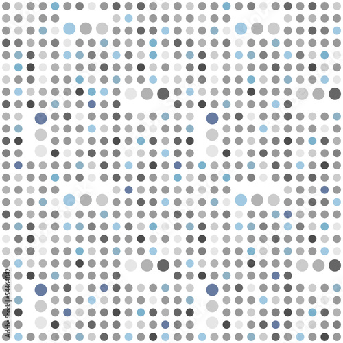 Polka dot seamless background - 54464842