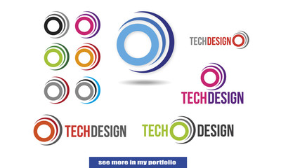 Company Logo Design, vector, circle, arc