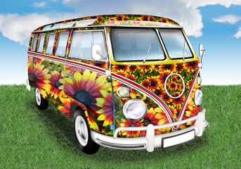 Oldtimer - Flower Power