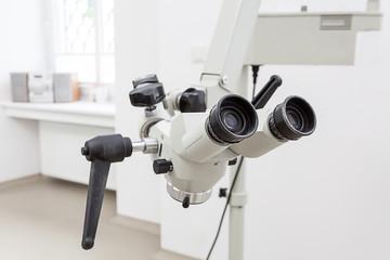 Dentist's microscope