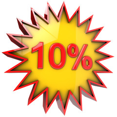 star discount of ten percent