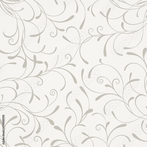Floral pattern. Vintage floral background.
