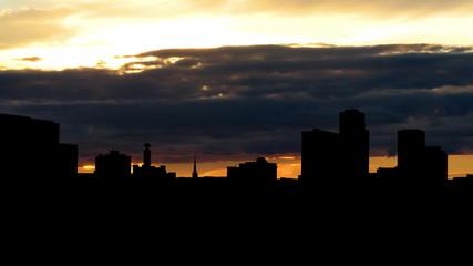 Arkansas Little Rock sunset
