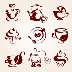 Tea elements set