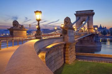 Chain Bridge, Budapest.
