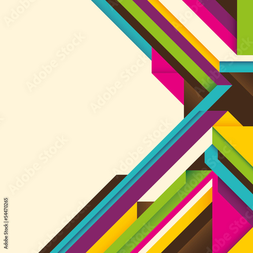 Geometric layout with abstract composition.
