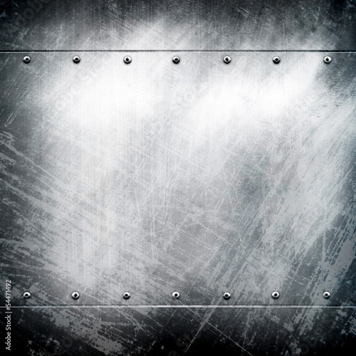 grunge iron background