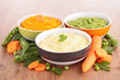 bowl of vegetable puree