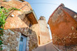 Roussillon, Provence - France. Famous Red Ancient Homes