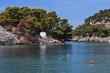 Panagia isle at Parga near Syvota in Greece