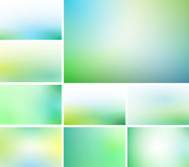 cool and fresh soft backgrounds