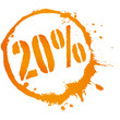 20% - 20 Prozent - Sale - Reduzierung