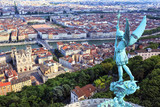 Famous view of Lyon