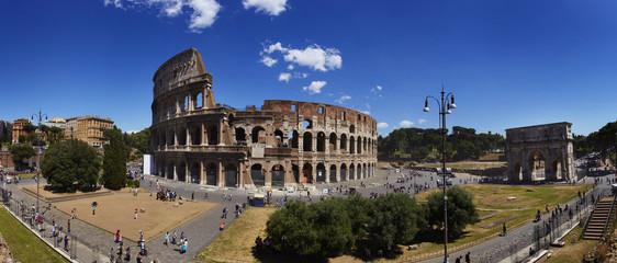 Colosseum Panorama 02, Rom, Italien