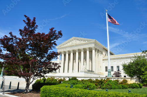 Supreme Court in Washinton DC, United States