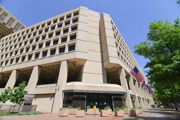 Washington DC - FBI Building on Pennsylvania Street