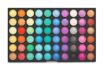 makeup color palette
