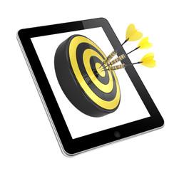 Akquise, Vertrieb, Tablet, Zielgruppen
