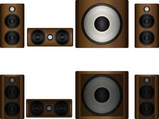 Set of acoustics