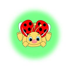 Cute little ladybird