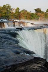 Lumangwe Falls from below, Kalungwishi River, northern Zambia