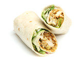 Chicken Tikka Wrap Sandwich