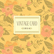 background; card; vintage; dogrose; Victorian