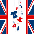 Card Royal Baby Hanging Symbols Shirt