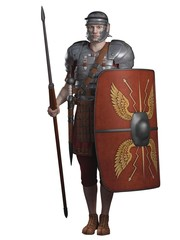 Roman Legionary on Guard