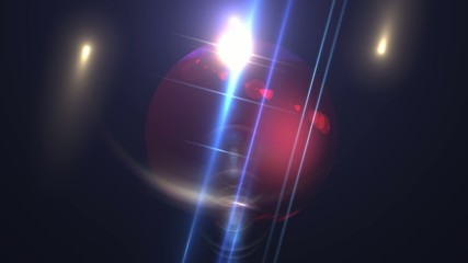 Abstract Background - Lens Flare